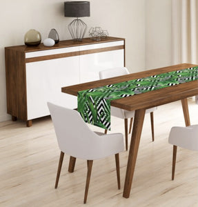 Leaf Design Table Runner - 40X140cm
