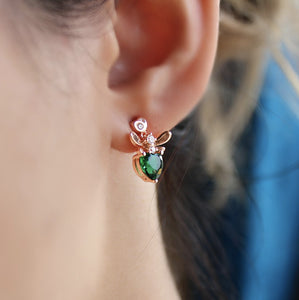 Mini Bee Earrings