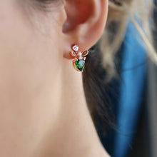 Load image into Gallery viewer, Mini Bee Earrings
