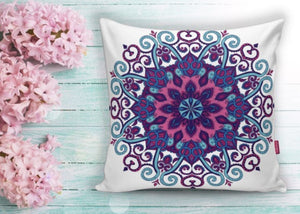 "Mosaic Printed Cushion  Covers - 18"" (45cm) Pillow Cushion Cover"