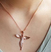 Load image into Gallery viewer, Peace Angel Necklace
