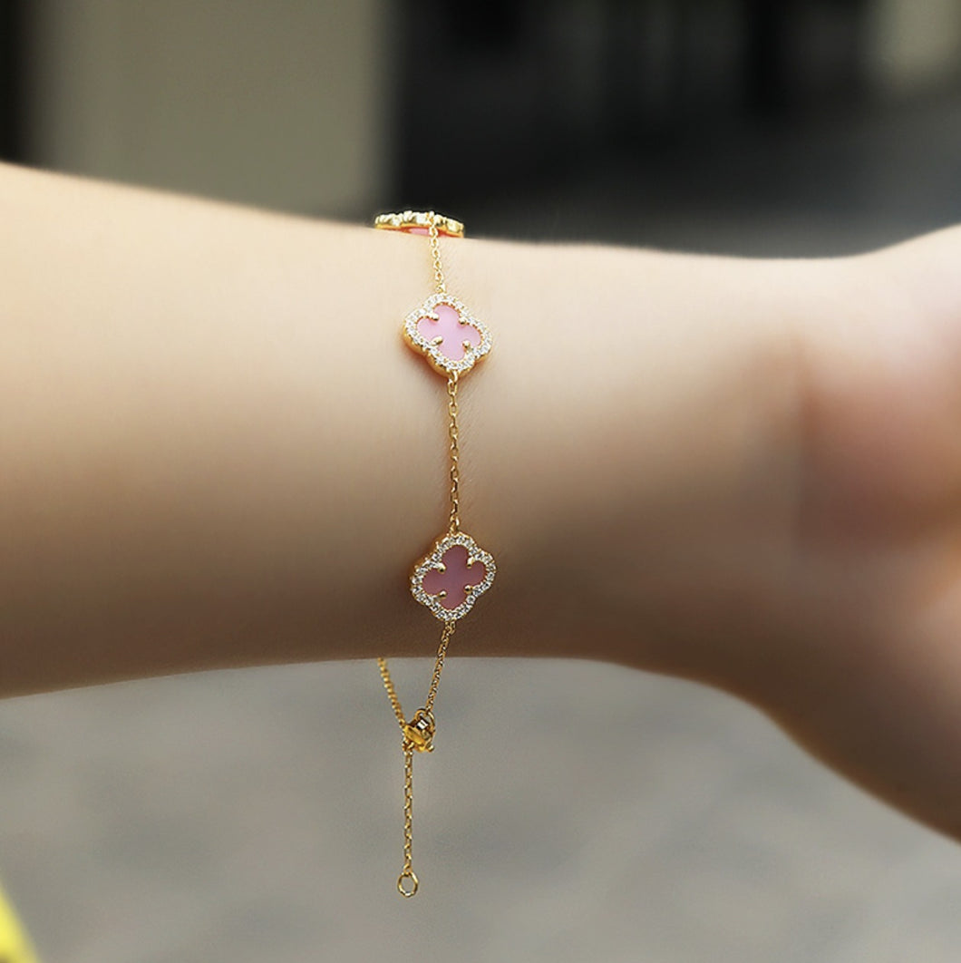 Gold Plated Bracelets With Charms