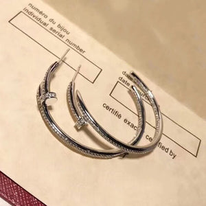 Large Circle Statement Earrings