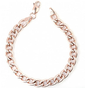 Rose Gold Plating Silver Bracelet