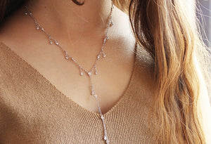Sterling Silver Lariant Necklace