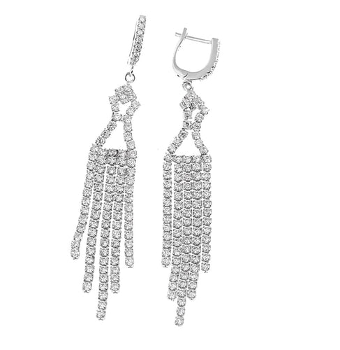 925 Sterling Silver Statement Earrings