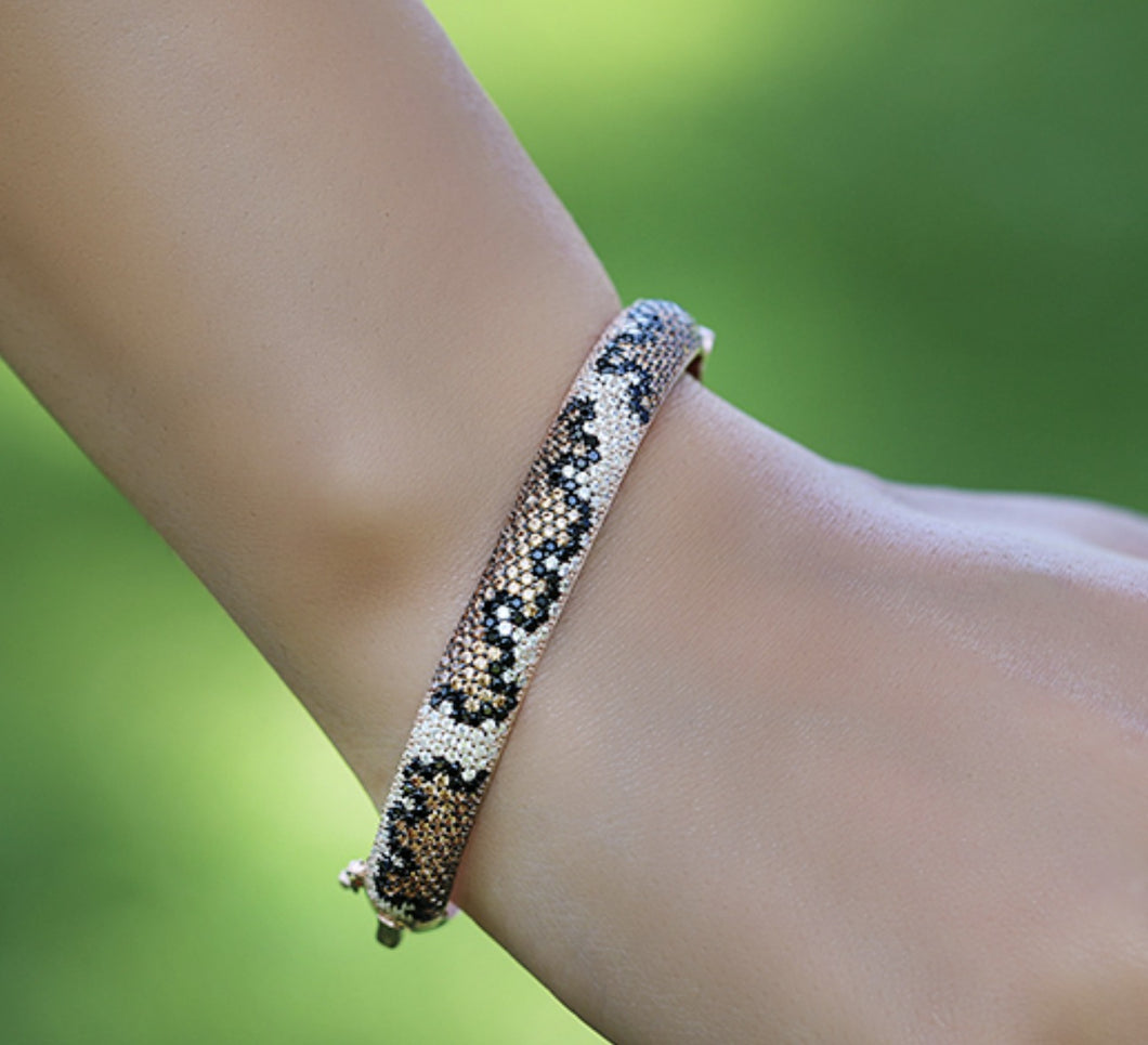 Tiger Patterned Bracelet