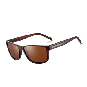 AFOUE Mens Classic Carbon Fiber Polarized Sunglasses - Serious Carbon