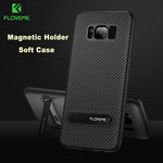 FLOVEME Luxury Carbon Fiber Case For Samsung s7 Through s9 - Serious Carbon