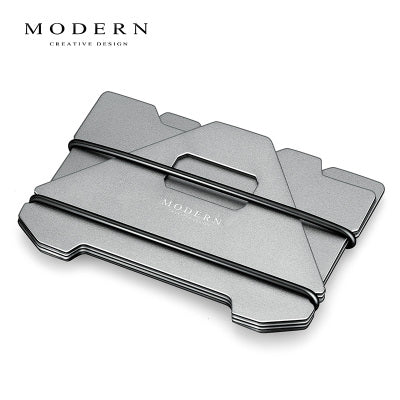 Modern Carbon Rfid Blocking Minimalist Wallet - Serious Carbon