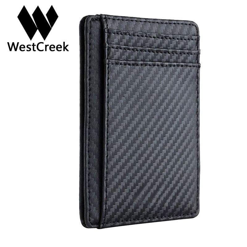 Westcreek Brand Carbon Fiber Wallet - Serious Carbon