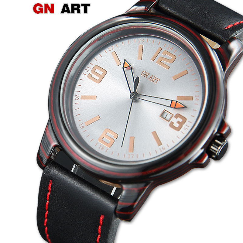 GNART Carbon Fiber Mens Luxury Sport Watch - Serious Carbon