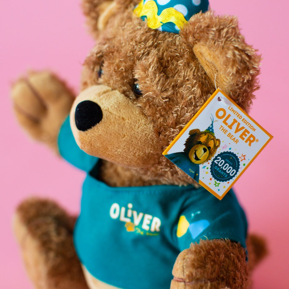 20,000th Grant Celebration- Limited Edition Oliver® the Bear