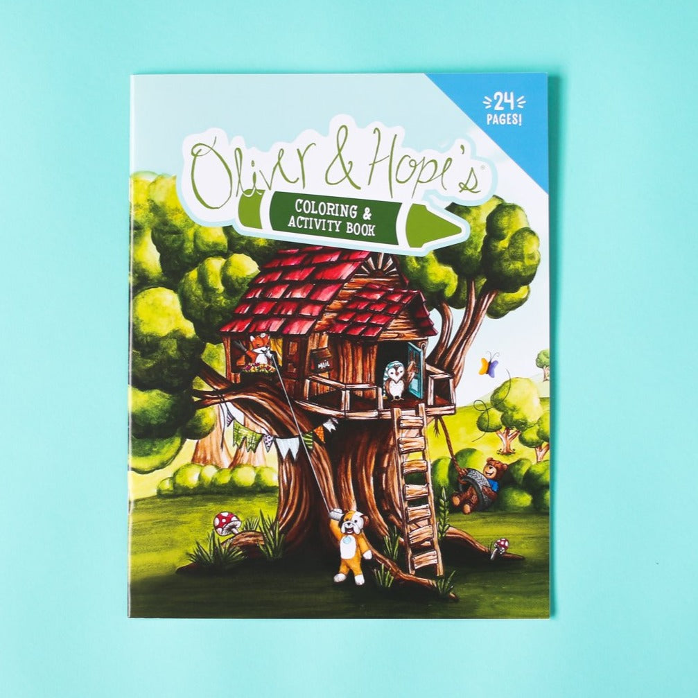 Oliver & Hope's® Coloring & Activity Book