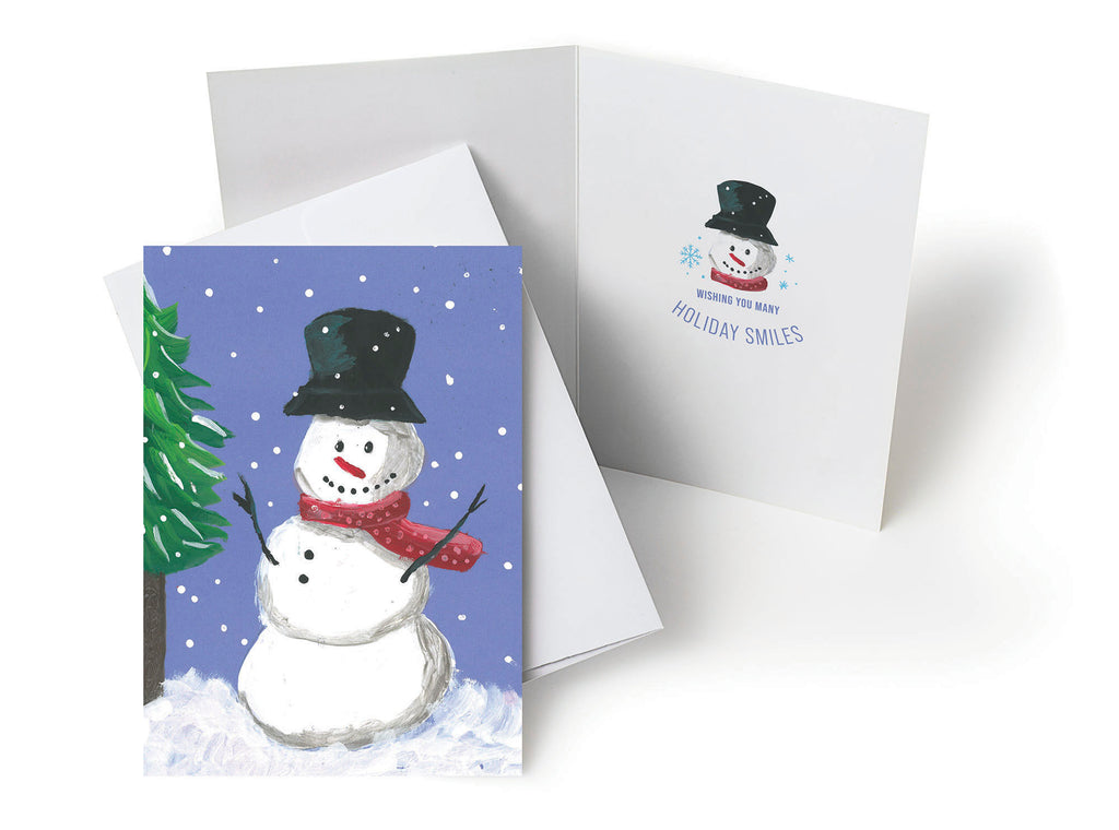 UHCCF Snowman Holiday Cards