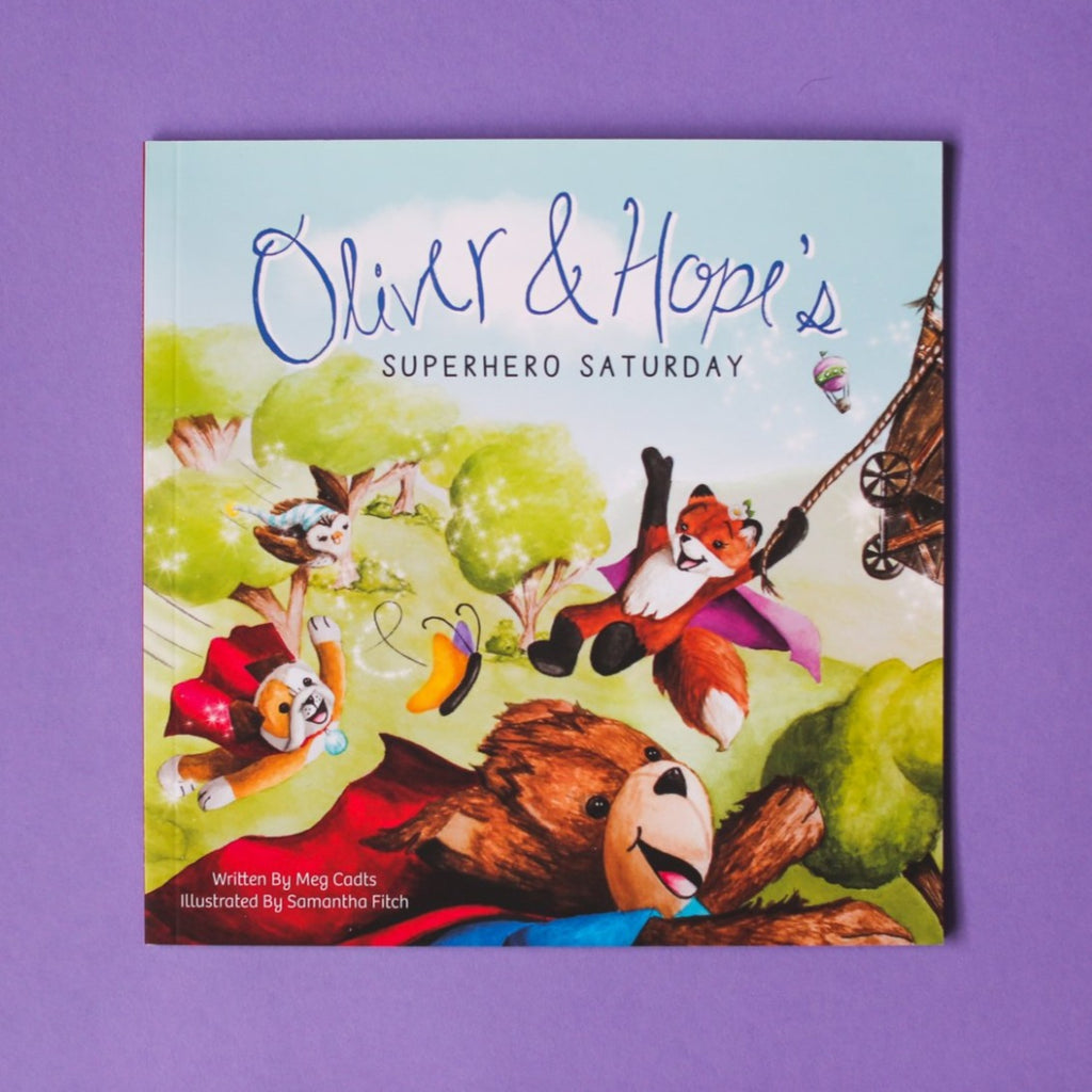 Oliver & Hope's Superhero Saturday® - Softcover