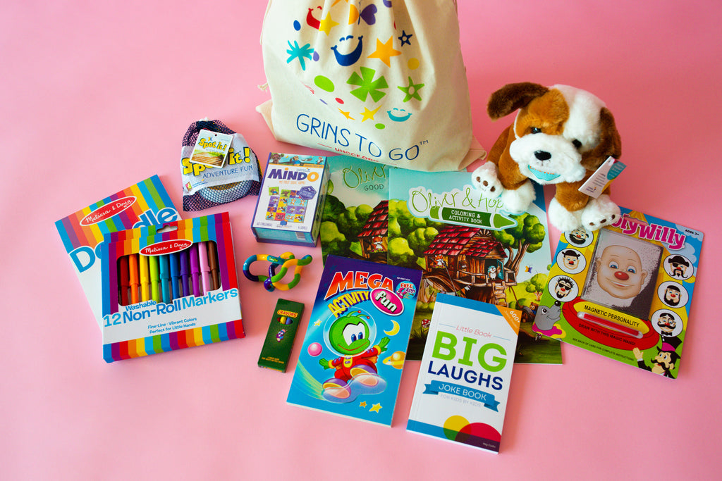 Grins to Go® Activity Bag