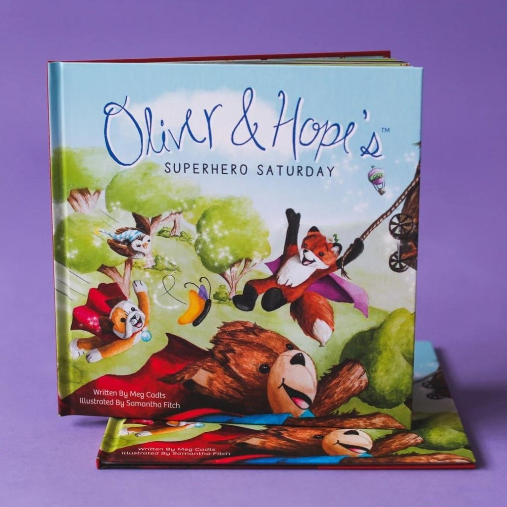 Oliver & Hope's Superhero Saturday® - Hardcover