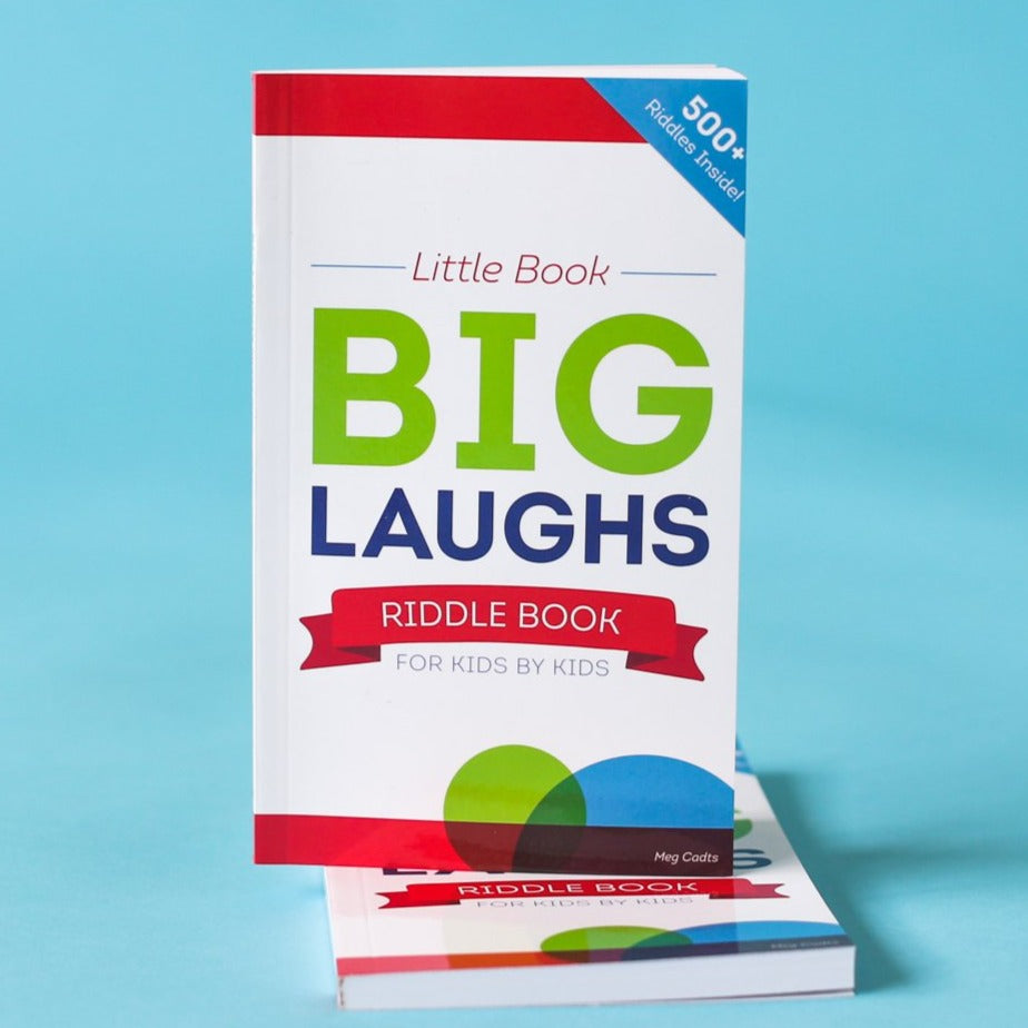 Little Book, Big Laughs - Riddle Book