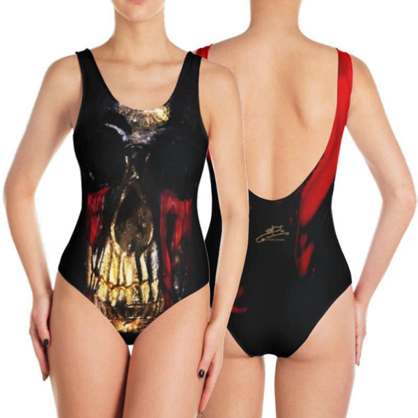 Death Bling One-Piece Swimsuit