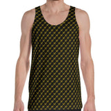 Black Gold Monogram Premium 360 Tank