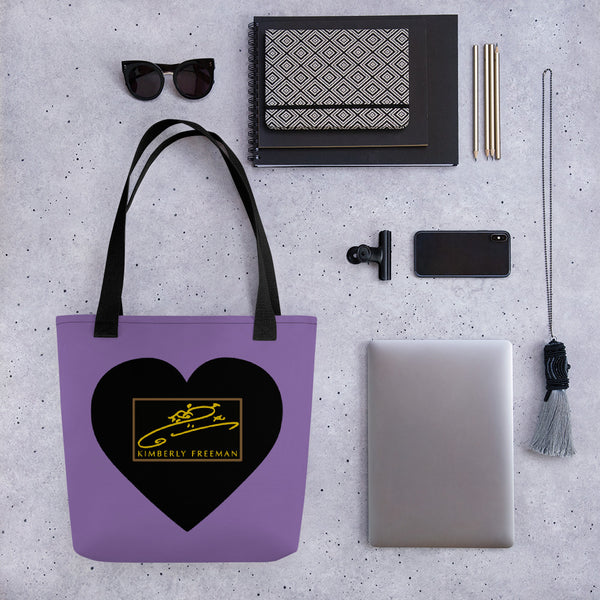 Sweetheart Tote - Lilac