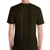 Black Gold Monogram Premium 360 Tee