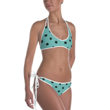Vintage Polka Dot Party 2-in-1 Reversible Bikini