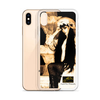 The Fountain by Crystal Dean iPhone Case