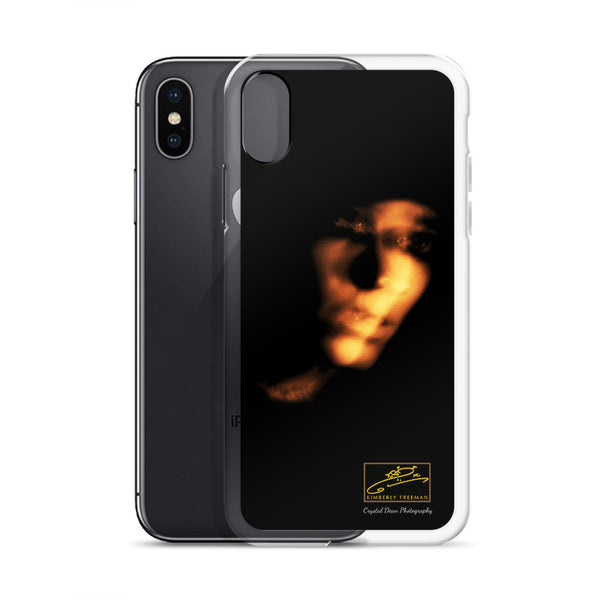 Kimberly Double Portrait by Crystal Dean iPhone Case