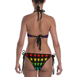Rainbow Star Mess 2-in-1 Reversible Bikini