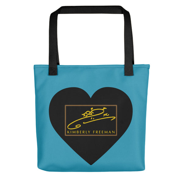 Sweetheart Tote - Blue Jay