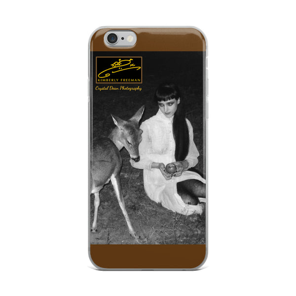 Bashful by Crystal Dean iPhone Case