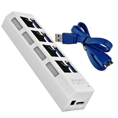USB3.0 Hub - 4 port - White