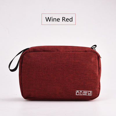 Toiletry Bag - Wine Red
