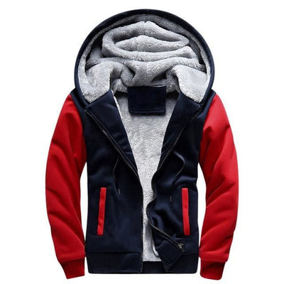 The Fluff Jacket - Red / S - Jacket
