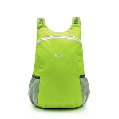 The Micro Foldable Water-Resistant Backpack - Green - Backpack