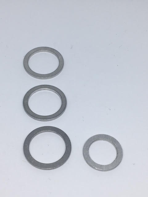 ARD ALU SUMP, DIFF & GEARBOX WASHER KIT M14 & M18 MAZDA ROTARY