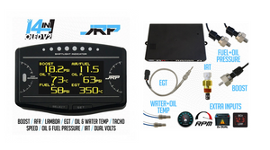 JRP 14in1 OLED Digtal Dash + Unit Sensor Package