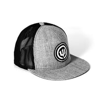 WICKED AUDIO HAT - GRAY TRUCKER WITH TEETH