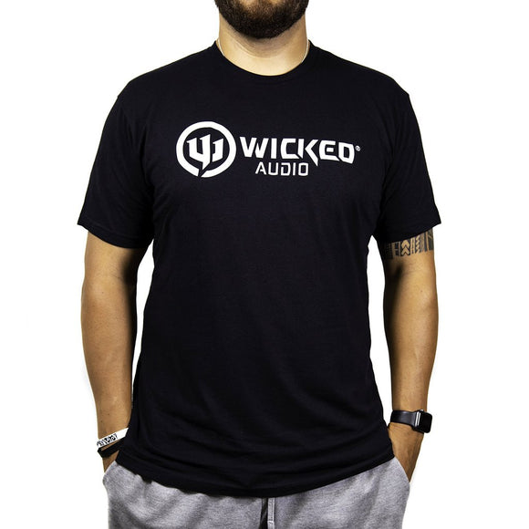 WICKED AUDIO SNAKE LOGO T-SHIRT