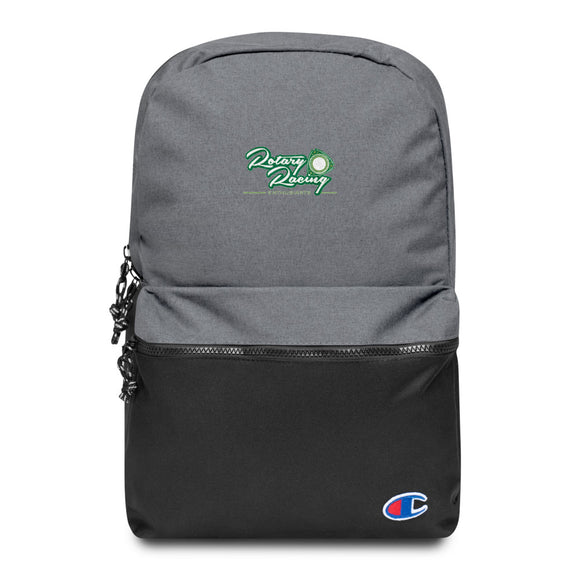New Zealand Rotary Racing Enthusiasts Embroidered Champion Backpack NZRRE