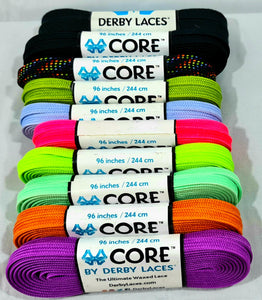 Derby Laces For All Skates 96 inches 244 cm Boot type skates