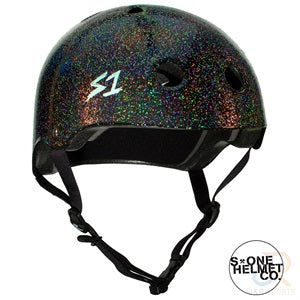 S1 Lifer Helmets - Black Gloss Glitter