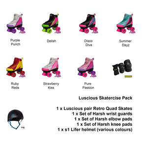 Luscious Skatercise Pack
