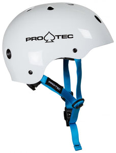 Pro-Tec Helmet Gloss White Ex Display
