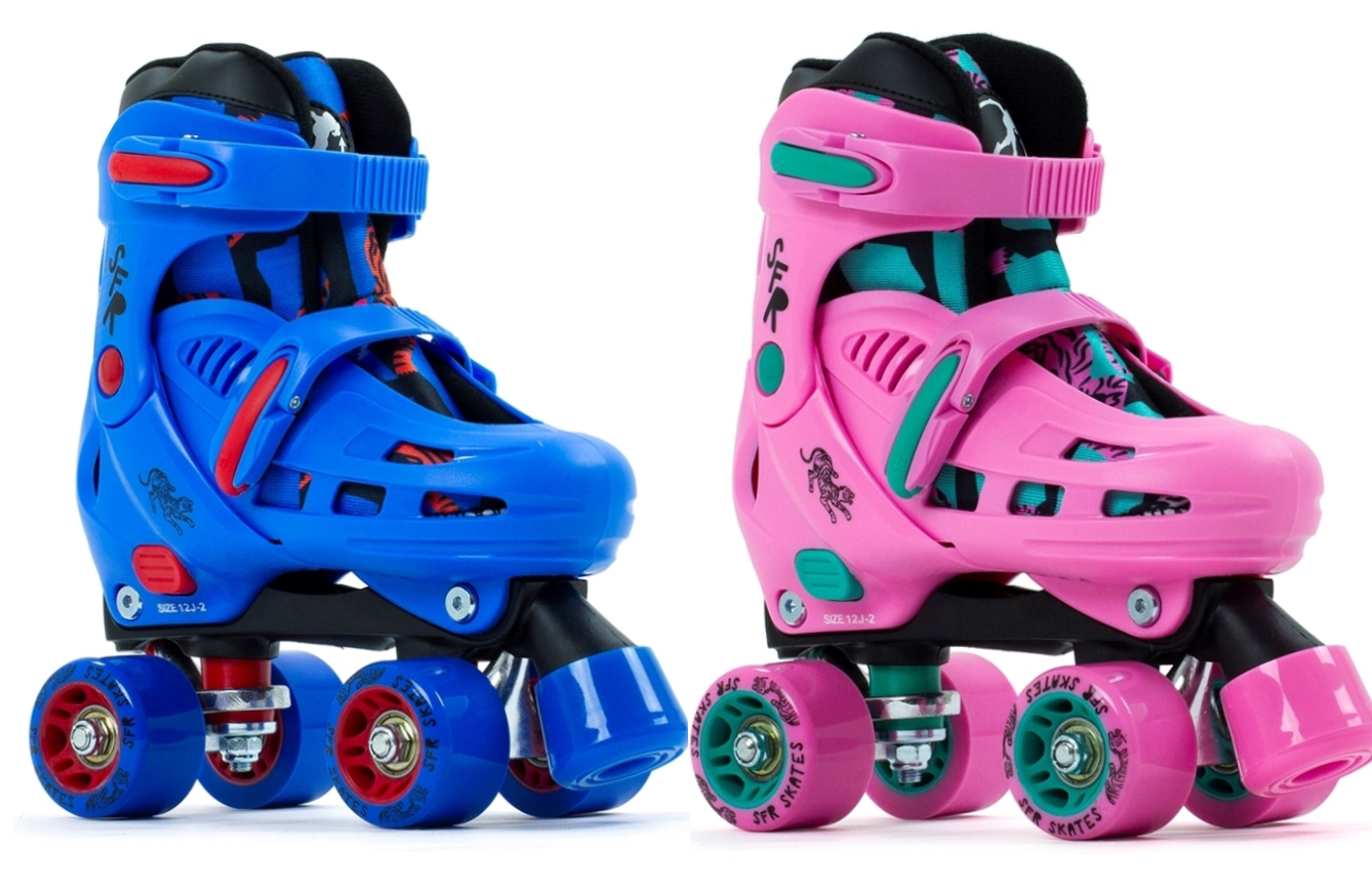 SFR Storm Adjustable Kids Quad Skates