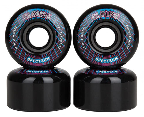 Clouds Urethane Wheels Spectrum 78a (pack 4) Outdoor Wheels