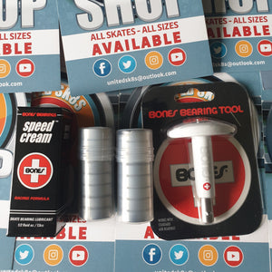 Bones Speed Cream, Enuff Abec 7 Bearings, Bones Bearing Puller Maintenance