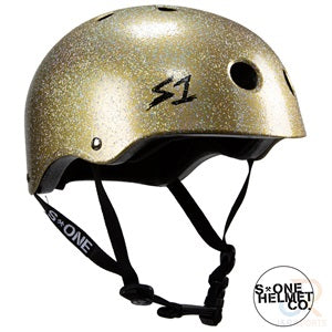 S1 Lifer Helmets - Double Gold Glitter